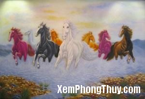 493 ngua2 Ý nghĩa số lượng ngựa trong khoa học phong thủy