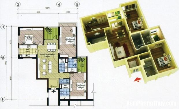 27 87 Cửa chính hợp khoa học phong thủy cho căn hộ chung cư