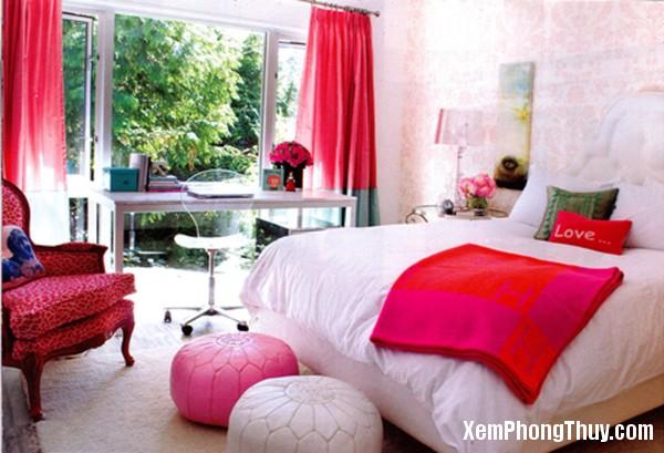 20141008075522768 Trang trí nhà với màu đỏ hợp khoa học phong thủy
