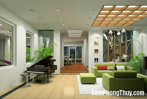 150 phong thuy 02 Nguyên tắc trồng cây xanh trong nhà ở