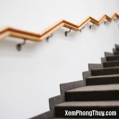 Stairway and Handrail --- Image by © Simon Jarratt/Corbis