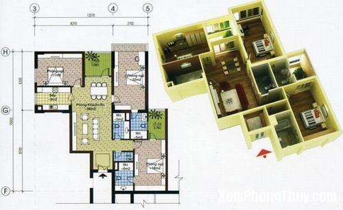 phongthuychungcu1 Những lưu ý khoa học phong thủy đối với chung cư