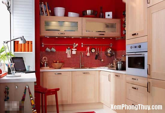 a2 1367494062 Bố trí phòng bếp nhỏ chuẩn theo khoa học phong thủy