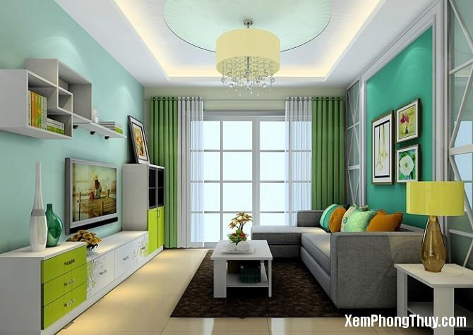 llgroup goi y nhung cach son tuong hop phong thuy can ho phong thuy 3 1482198945 Cách chọn màu sơn tường đem lại may mắn cho căn hộ