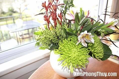 cach dung hoa tuoi hut tai van vao nha 37384 Cách để dùng hoa tươi hút tài vận vào nhà