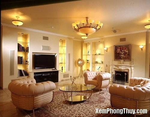 18 3 Cách bố trí ghế sofa và tivi trong phòng khách cho đúng