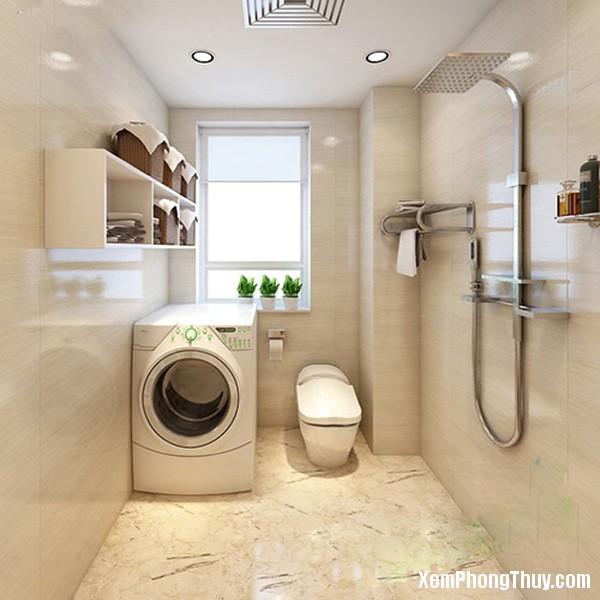 may giat 3 Đặt máy giặt theo kiểu này thì bạn và gia đình sẽ gặp hạn lớn đấy