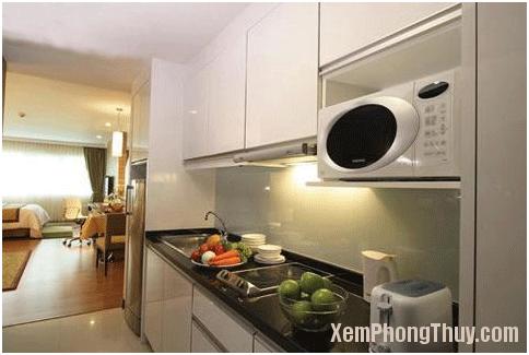 146 Thiết kế bếp cho căn hộ chung cư sao cho hợp phong thủy