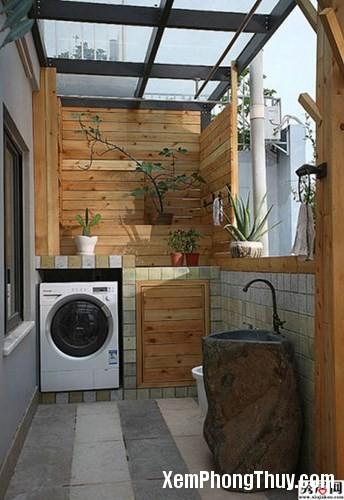 clip image002 Hãy cẩn thận với vị trí máy giặt như thế này khi đặt trong gia đình