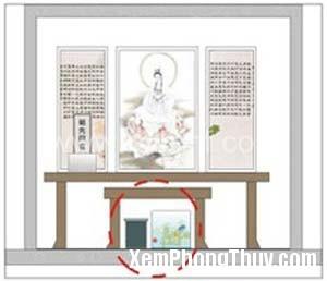 phong thuy ban tho 14084 Phong thủy bàn thờ kiêng kỵ điều gì nếu như không muốn tán gia bại sản