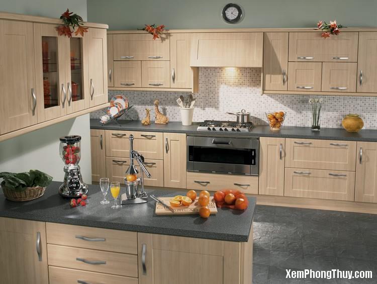 5B8 7luuy Cách bài trí phòng bếp giúp gia đình giàu có sung túc quanh năm