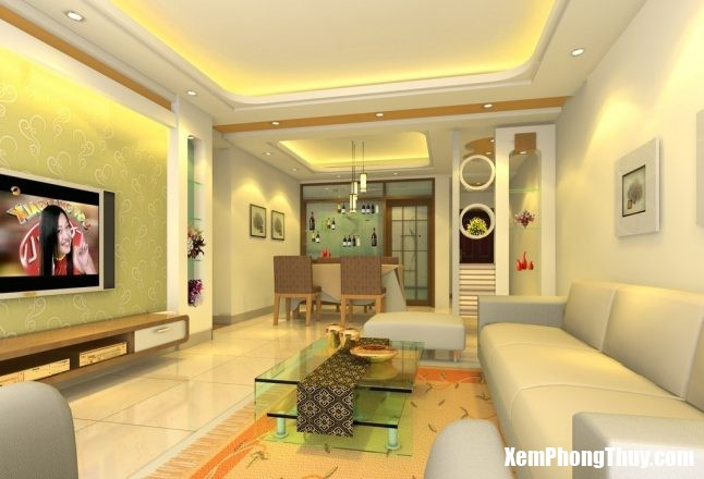 Modern-Living-Room-Furniture-Designs-With-Recessed-Spot-Light-Ceiling-And-Square-Glass-Table-646x440