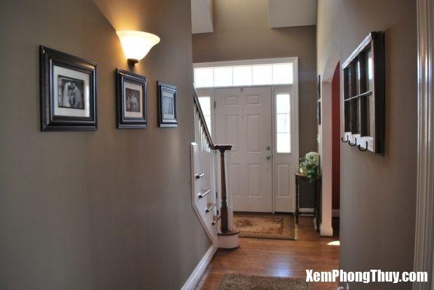 paint-colors-for-hallways-ideas-hallway-painted-basement-excellent-pics-620x414