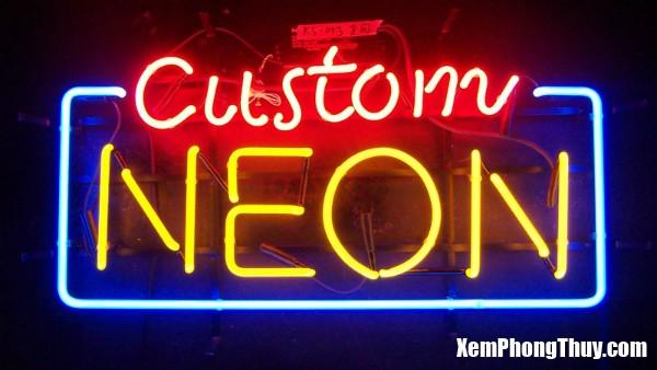 anh sang den neon1 Đèn Neon là sát trong khoa học phong thủy