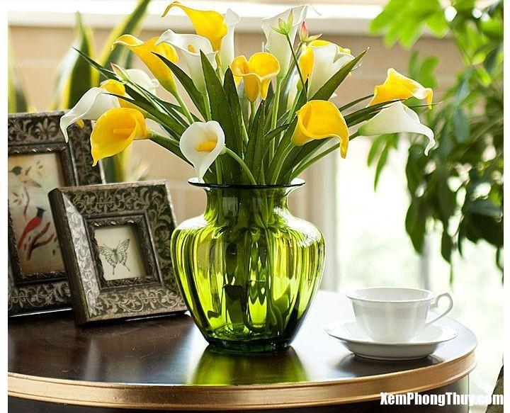 phong thuy binh hoa Vị trí đặt bình hoa trang trí nhà tốt nhất cho gia chủ