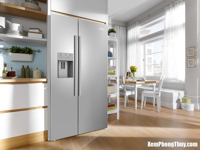 48 35bd Những nơi trong nhà tuyệt đối không được để tủ lạnh và lò vi sóng